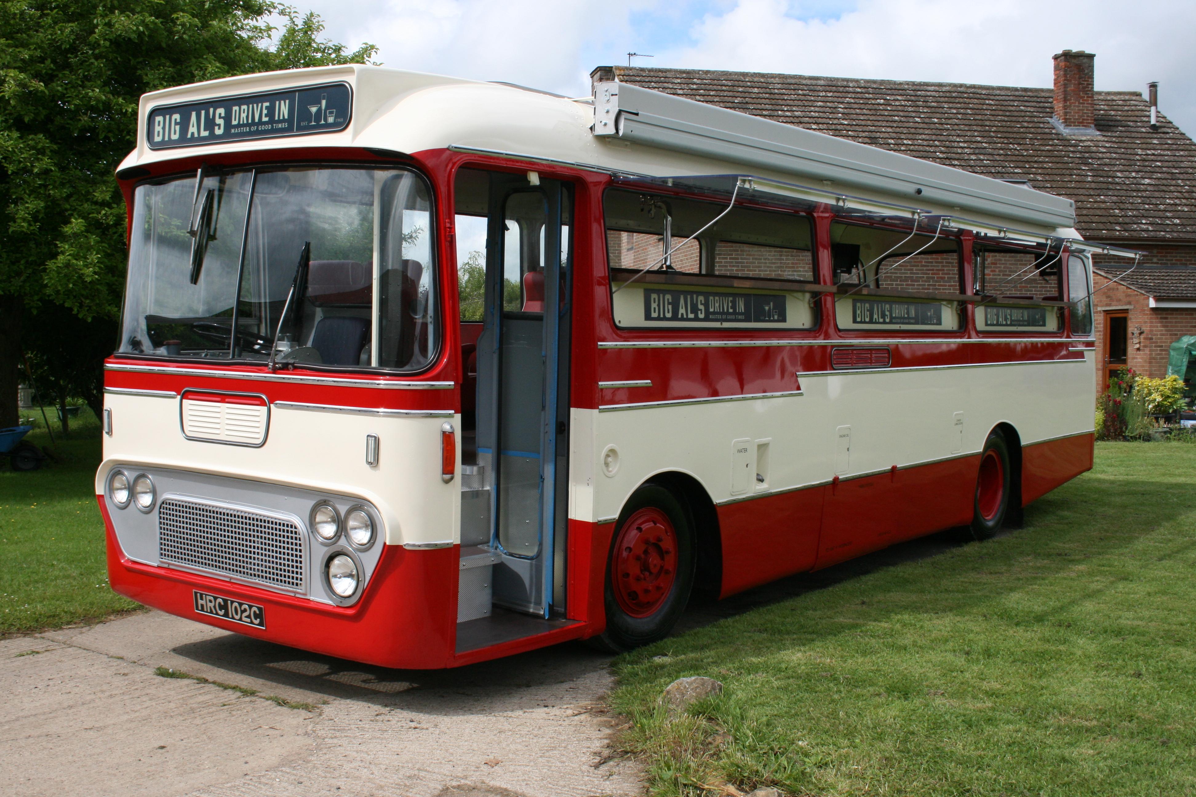 Cocktail Party Bus Restoration